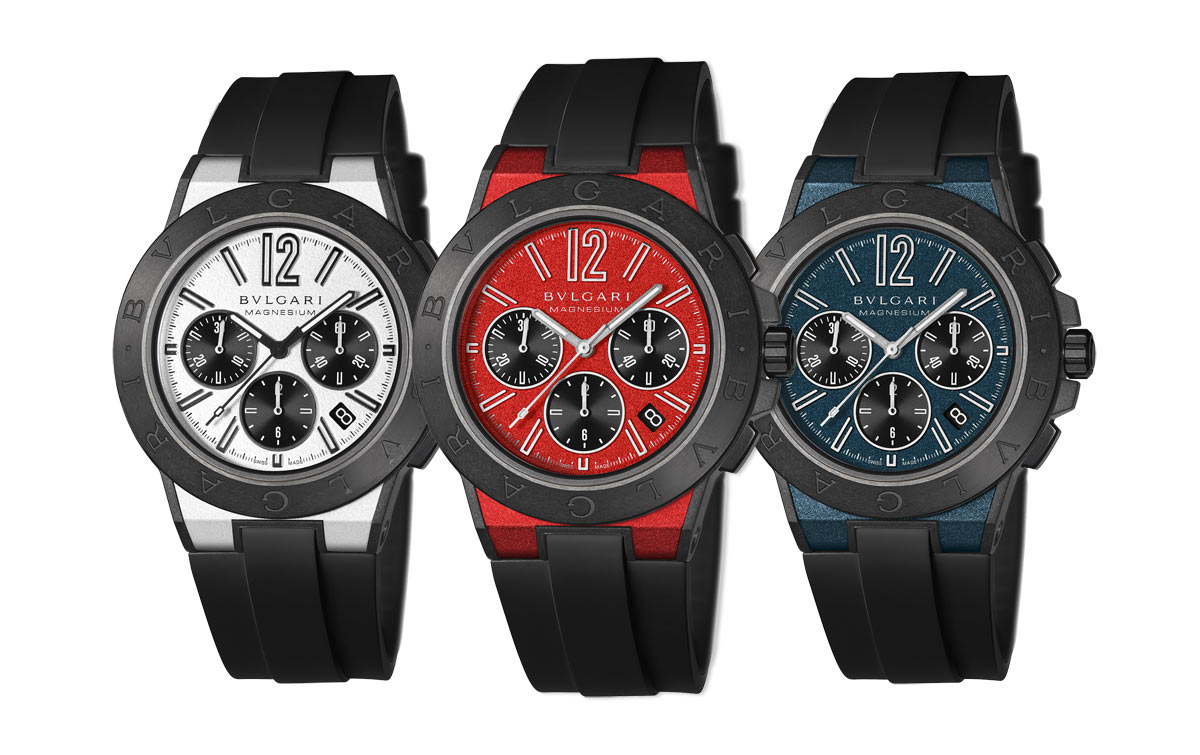 Bvlgari replica watches - Introducing The Bulgari Diagono Chronograph Magnesium Replica Watch