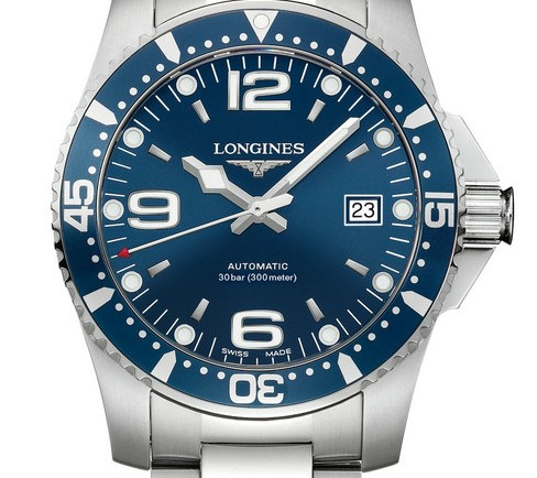 Hands On Elegant Collection Of Red And Blue Color Meter Diving Style Longines Replica