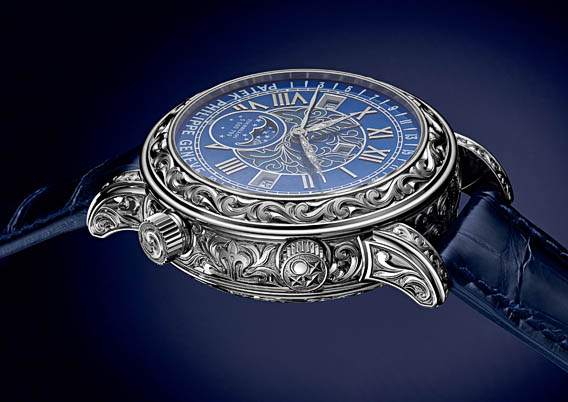 Replica Patek Philippe Sky Moon Tourbillon Ref. 6002