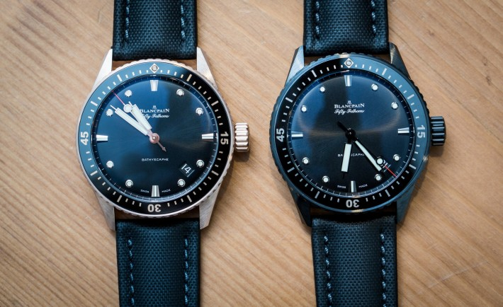 Replica Blancpain Fifty Fathoms Bathyscaphe