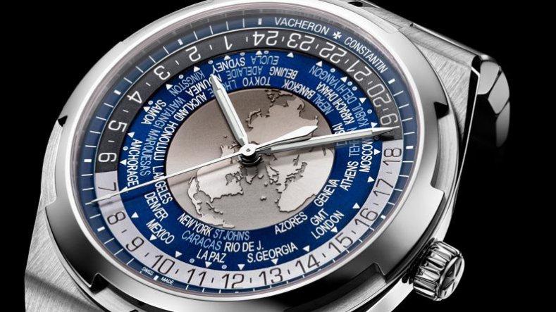 Blue Dial Vacheron Constantin Overseas Replica