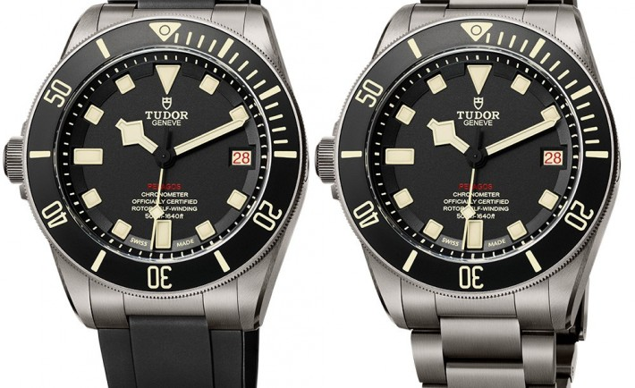 tudor pelagos lhd left handed numbered edition watch