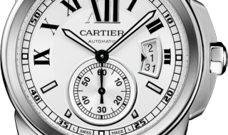 High Quality Replica Famous Calibre de Cartier Opaline Dial Copy Watches