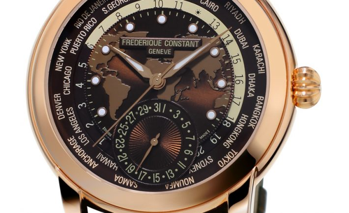 Frederique Consrant Classic Worldtimer Manufacture