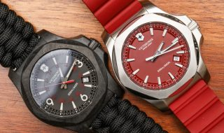 Cheap Victorinox Swiss Army INOX Carbon Naimakka Paracord Strap Watch Replica