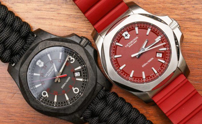 Cheap Victorinox Swiss Army INOX Carbon Naimakka Paracord Strap Watch Replica