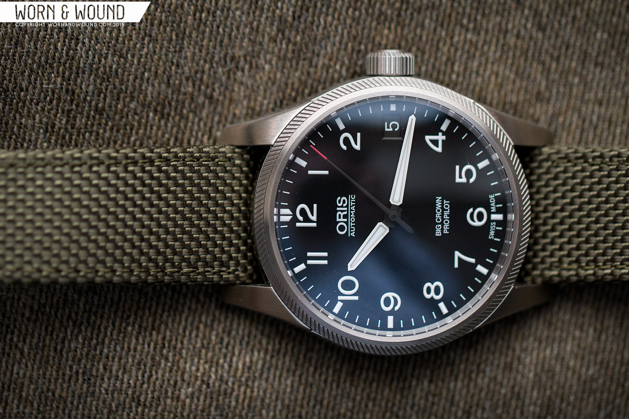 replica oris big crown propilot date review best swiss