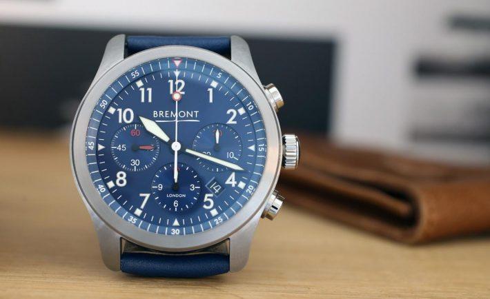 Bremont ALT1-P Chronograph blue.