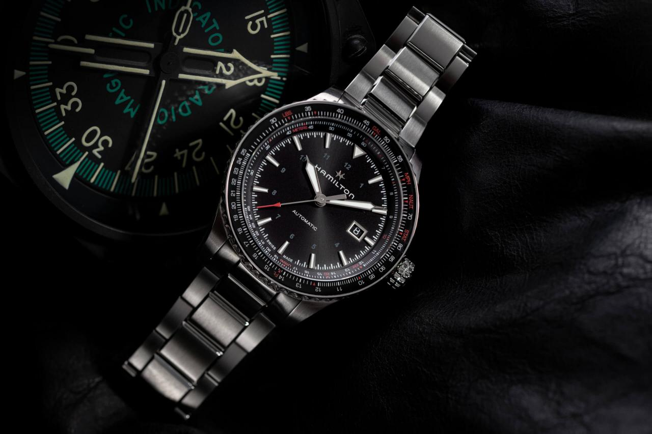 Hamilton's new Launches A High-Flying Trio In Converter Collection replica watch